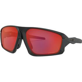 Oakley Field Jacket Sunglasses matte black/prizm trail torch